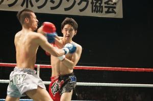 東京・伊原稲城キックボクシングジム SLEDGE HAMMER4 堀口跳二