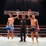 東京・伊原稲城キックボクシングジム SLEDGE HAMMER4 重森陽太
