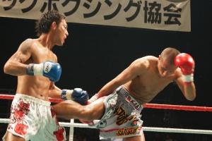 東京・伊原稲城キックボクシングジム SLEDGE HAMMER4 羽立宏孝
